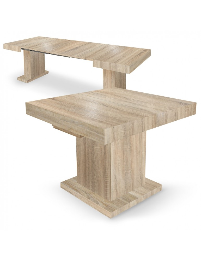 Table extensible Mustang Chêne Clair br16250sonomaoak