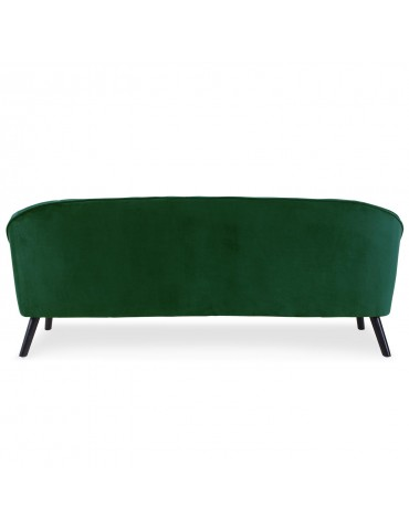Canapé 3 places Ioan Velours Vert qh8922v356green