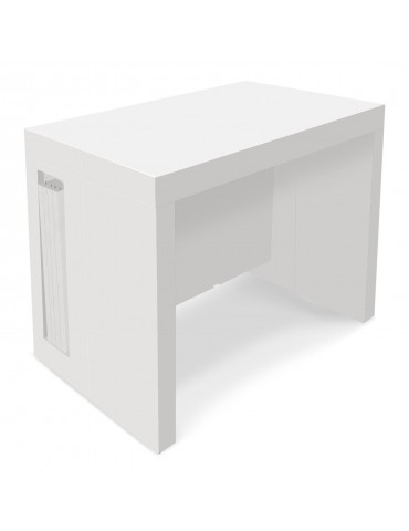 Table Console Extensible Chay Blanc Laque Dt41ablanc