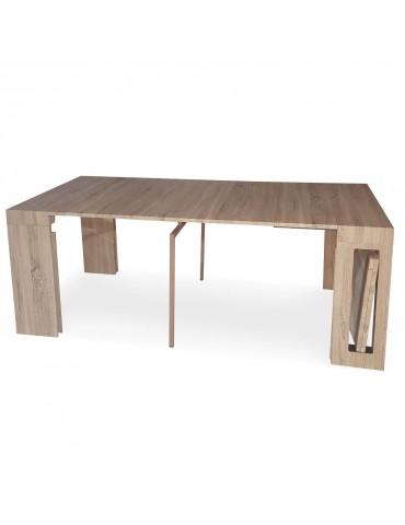 Table console extensible Chay Chêne clair dt41acheneclair