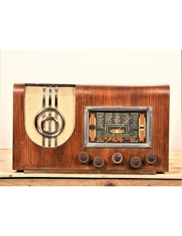 Radio vintage bluetooth Radio monde 411