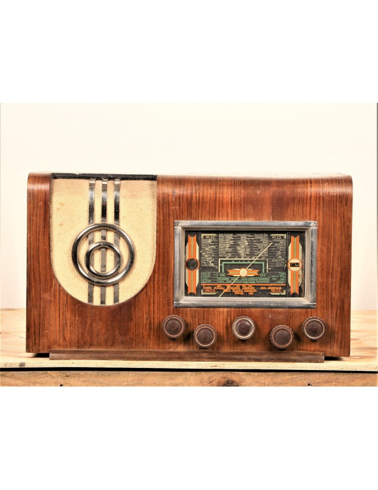 Radio vintage bluetooth Radio monde 411