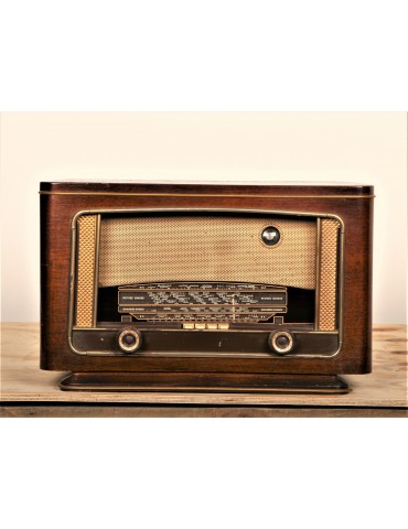 Radio vintage bluetooth Radio monde 1955 406