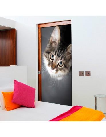 Papier-peint pour porte - Charming Kitten A1-TNTTUR0111.