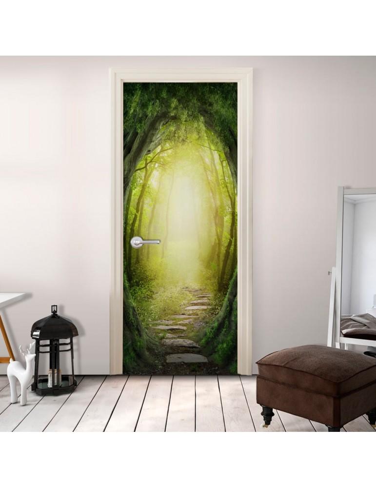 Papier-peint pour porte - The Forest of Fantasy A1-TNTTUR0119.