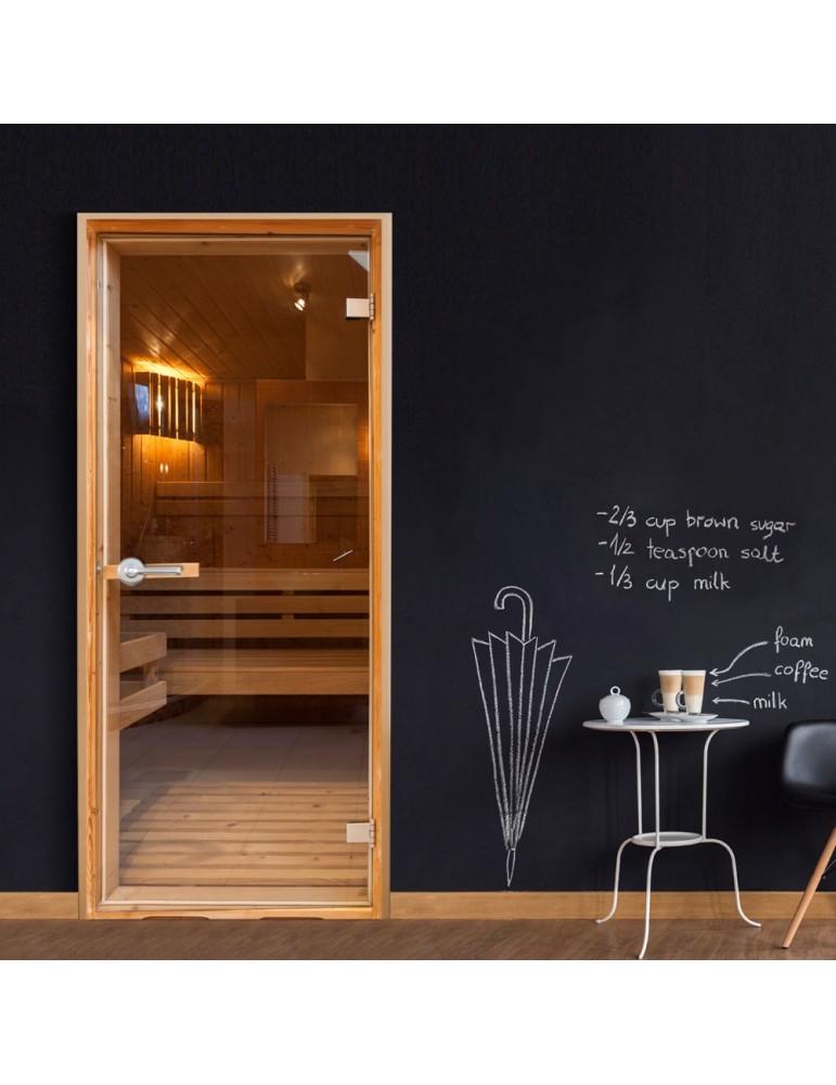 Papier-peint pour porte - Sauna A1-TNTTUR0123