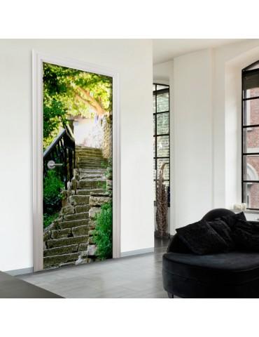 Papier-peint pour porte - Stony Stairs A1-TNTTUR0139