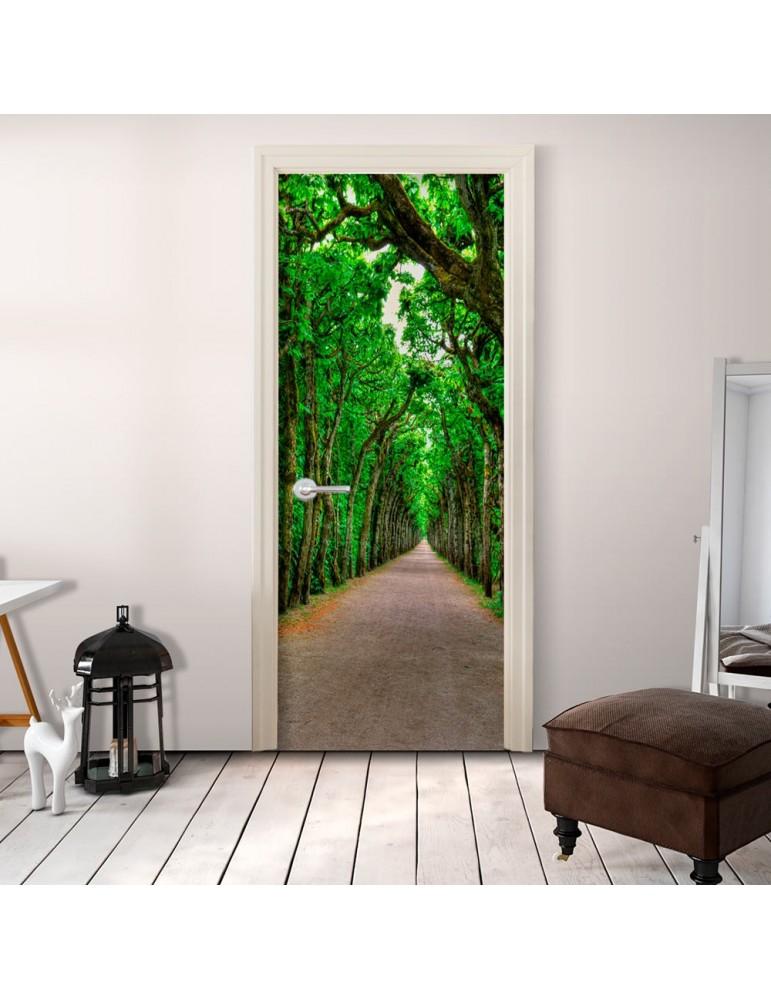 Papier-peint pour porte - Mysterious Alley A1-TNTTUR0151