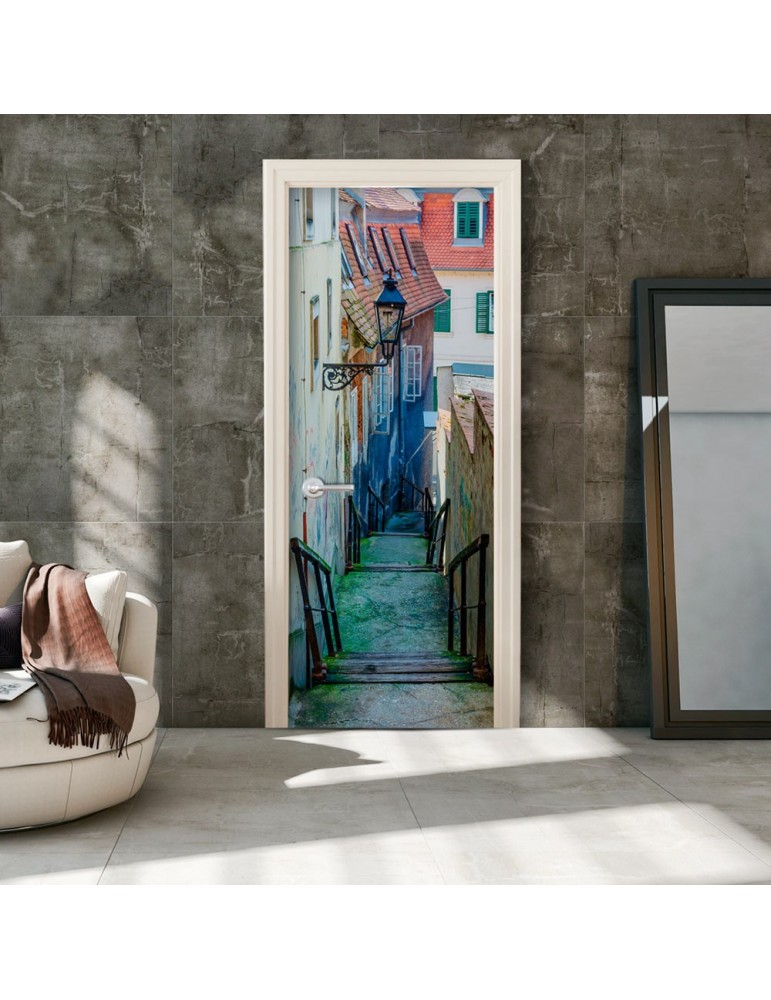 Papier-peint pour porte - Croatian Alley A1-TNTTUR0155
