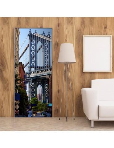 Papier-peint pour porte - New York: Bridge A1-TNTTUR0187
