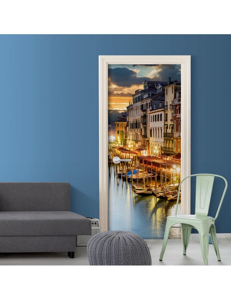 Papier-peint pour porte - Venetian Harbour A1-TNTTUR0191
