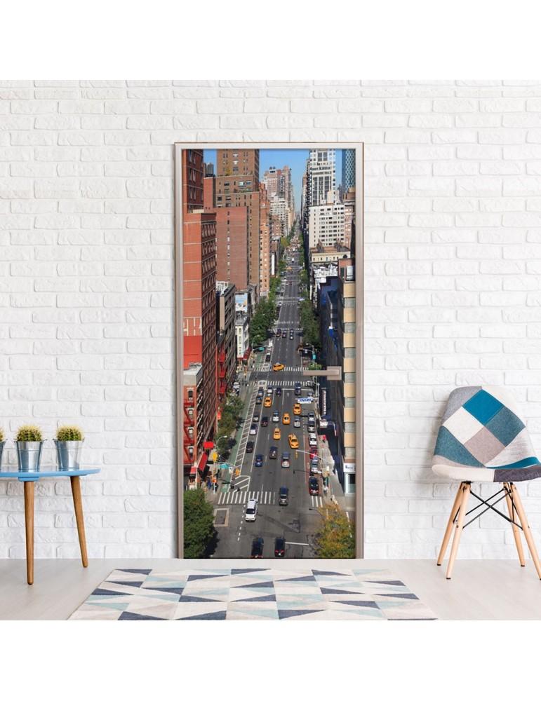 Papier-peint pour porte - City Life A1-TNTTUR0203