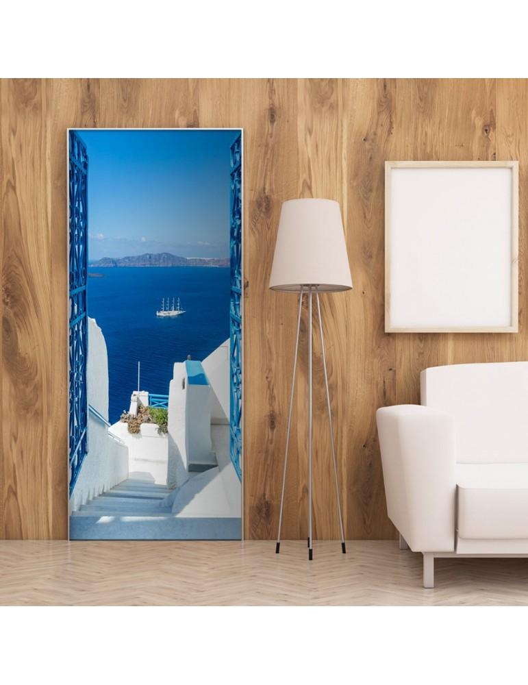 Papier-peint pour porte - Holidays in Greece A1-TNTTUR0227