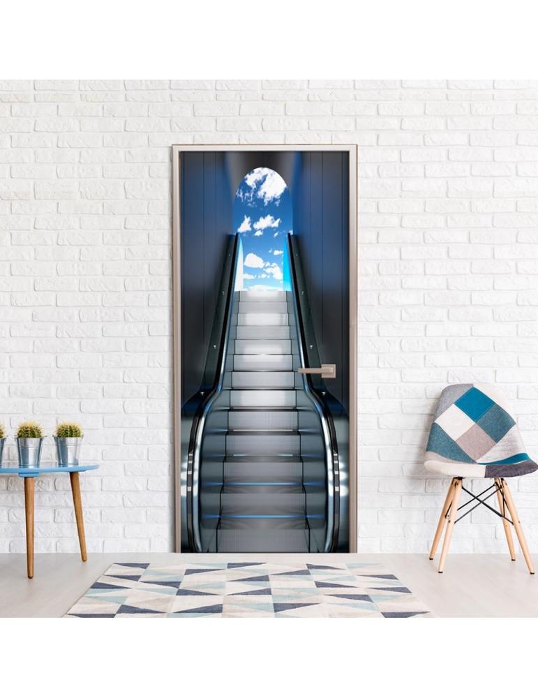 Papier-peint pour porte - Escalator A1-TNTTUR0231