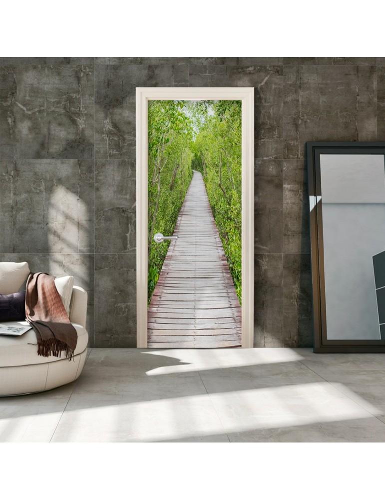Papier-peint pour porte - The Path of Nature A1-TNTTUR0247