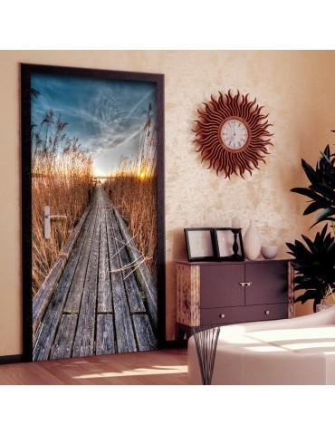 Papier-peint pour porte - Photo wallpaper - Pier on the lake I A1-TNTTUR0291