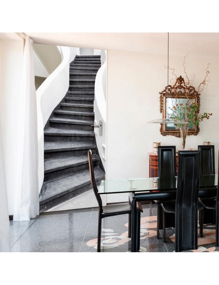 Papier-peint pour porte - Photo wallpaper – Stairs I A1-TNTTUR0295