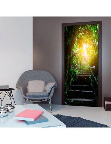 Papier-peint pour porte - Photo wallpaper - Stairs in the urban jungle I A1-TNTTUR0303