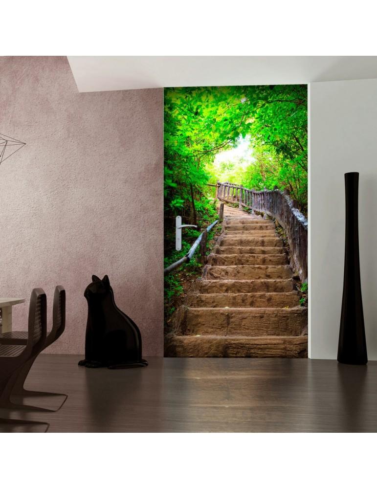 Papier-peint pour porte - Photo wallpaper – Stairs from nature I A1-TNTTUR0307