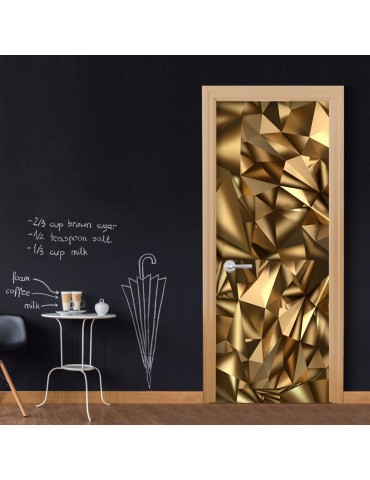 Papier-peint pour porte - Photo wallpaper - Golden Geometry I A1-TNTTUR_70_0345
