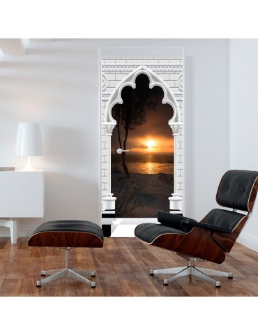 Papier-peint pour porte - Photo wallpaper - Gothic arch and sunset I A1-TNTTUR_70_0357