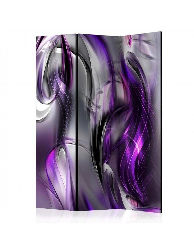 Paravent 3 volets - Purple Swirls [Room Dividers] A1-PARAVENT216