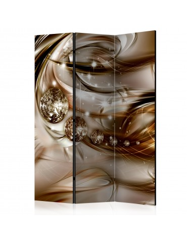 Paravent 3 volets - Chocolate Tide [Room Dividers] A1-PARAVENT218