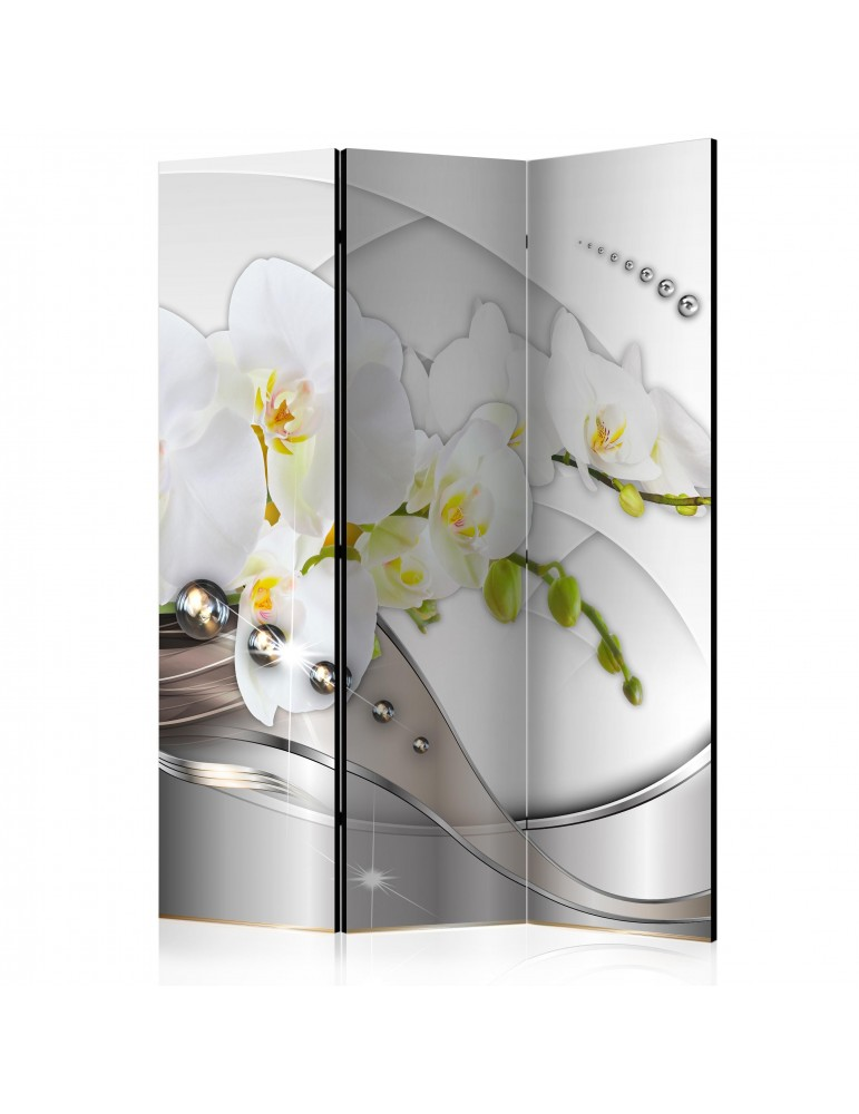 Paravent 3 volets - Pearl Dance of Orchids [Room Dividers] A1-PARAVENT214