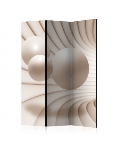 Paravent 3 volets - Balls in the Tunnel [Room Dividers] A1-PARAVENT53