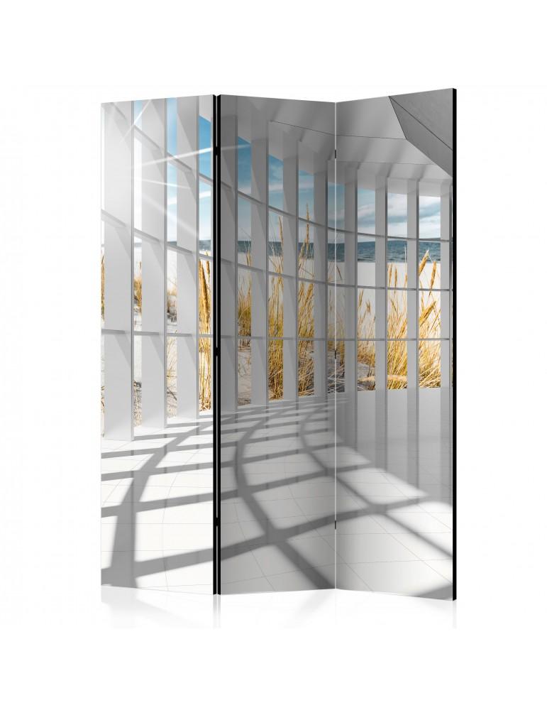 Paravent 3 volets - Seaside Bastion [Room Dividers] A1-PARAVENT45