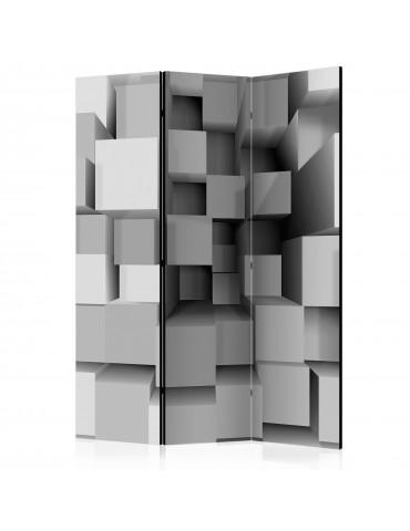 Paravent 3 volets - Geometric Puzzle [Room Dividers] A1-PARAVENT65