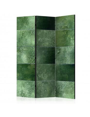 Paravent 3 volets - Green Puzzle [Room Dividers] A1-PARAVENT128
