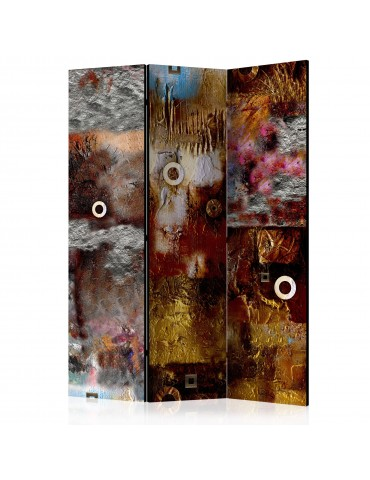 Paravent 3 volets - Painted Abstraction [Room Dividers] A1-PARAVENT118