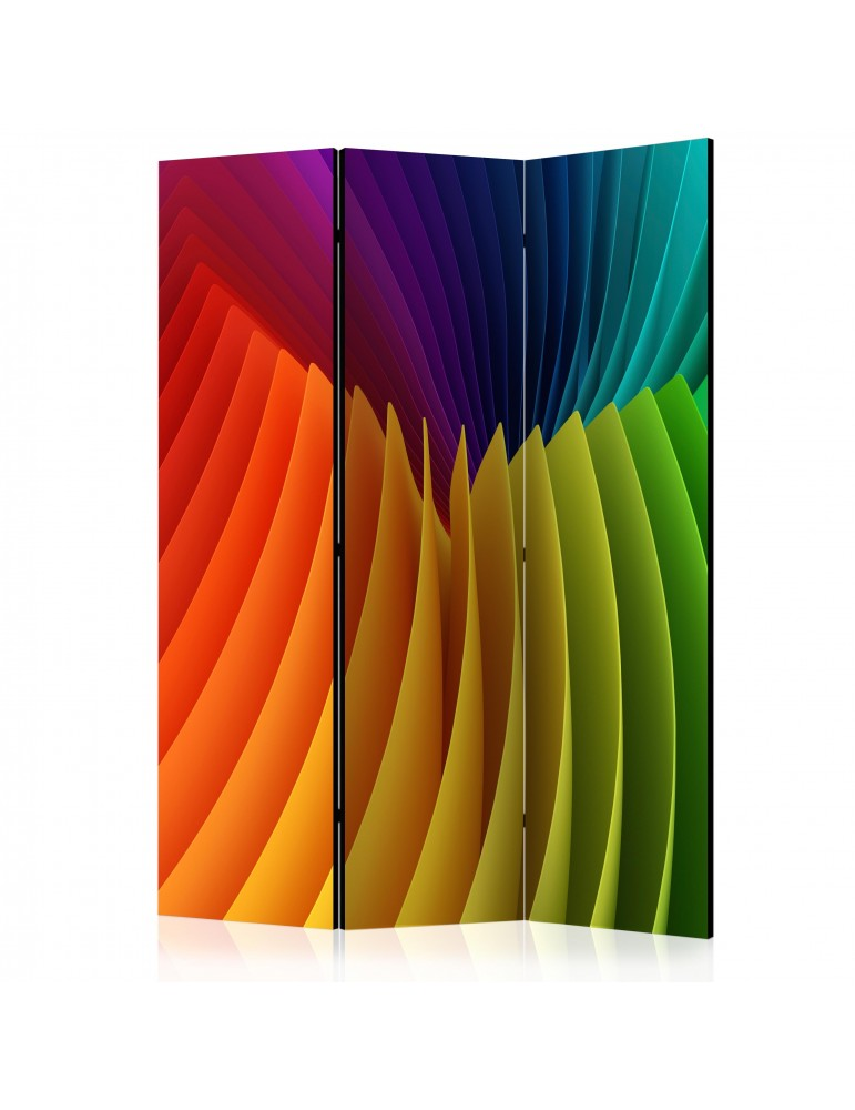 Paravent 3 volets - Rainbow Wave [Room Dividers] A1-PARAVENT732