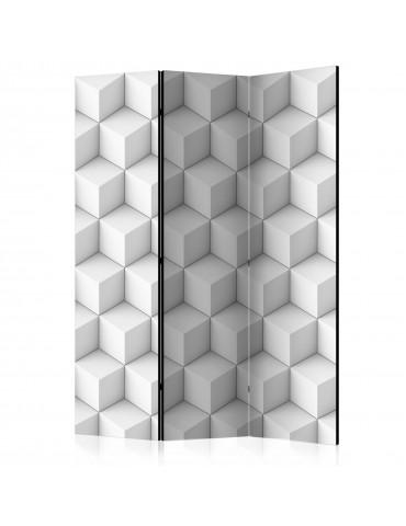 Paravent 3 volets - Room divider – Cube I A1-PARAVENT921