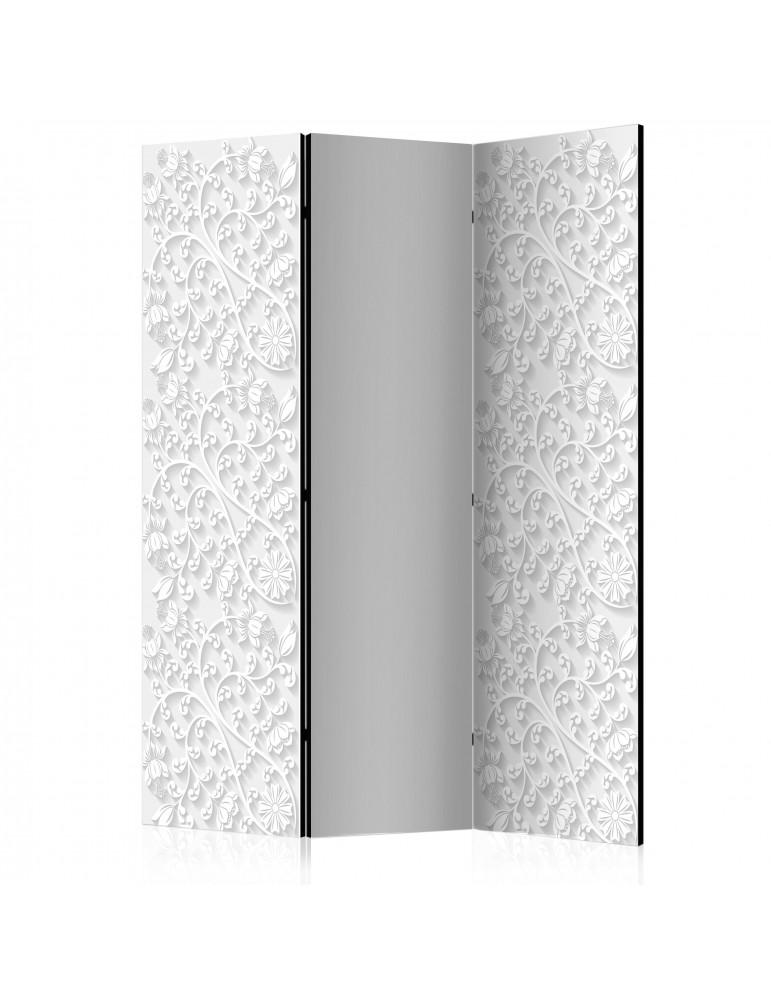 Paravent 3 volets - Room divider – Floral pattern I A1-PARAVENT925