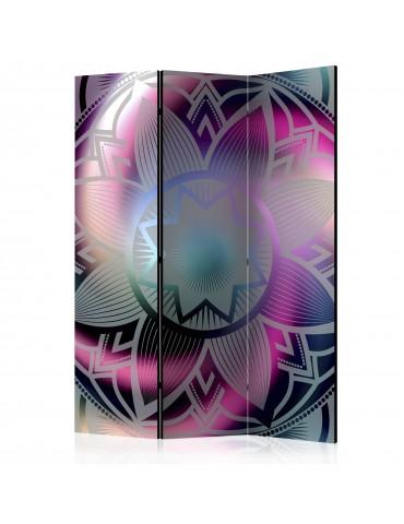 Paravent 3 volets - Flowery Mandala [Room Dividers] A1-PARAVENT746