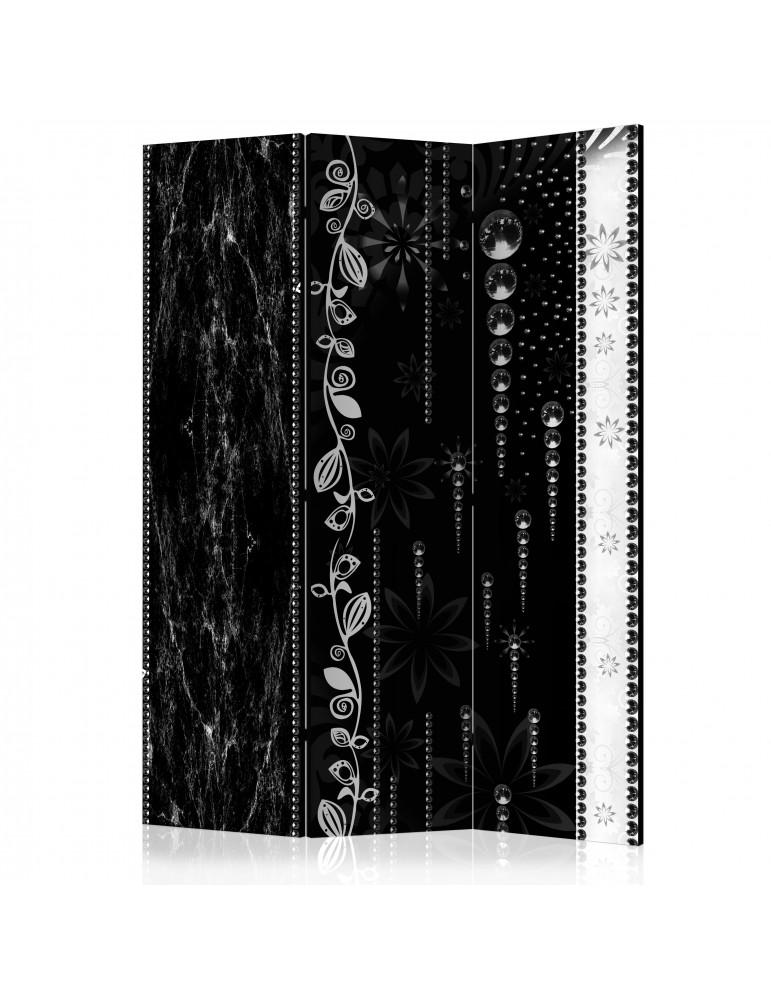 Paravent 3 volets - Black Elegance [Room Dividers] A1-PARAVENT754