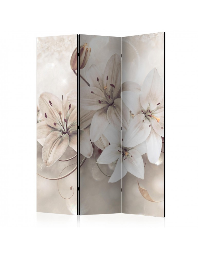Paravent 3 volets - Diamond Lilies [Room Dividers] A1-PARAVENT174