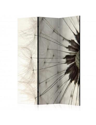 Paravent 3 volets - White Dandelion [Room Dividers] A1-PARAVENT130