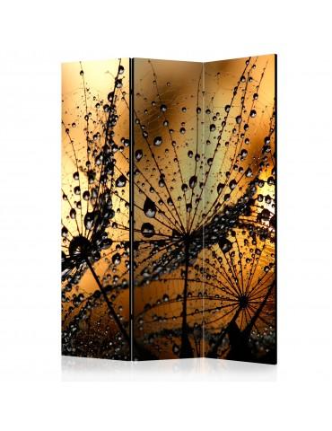 Paravent 3 volets - Dandelions in the Rain [Room Dividers] A1-PARAVENT138