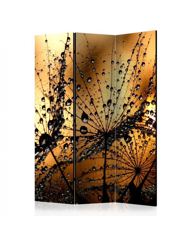 Paravent 3 volets - Dandelions in the Rain [Room Dividers] A1-PARAVENT138