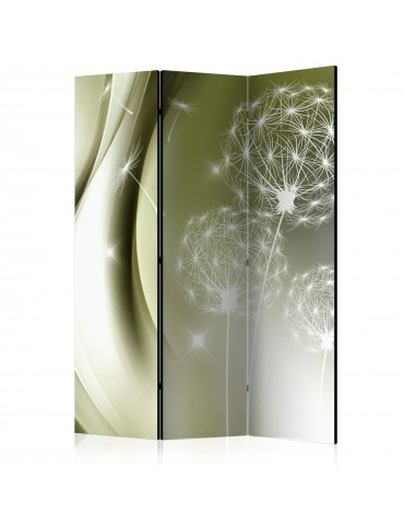Paravent 3 volets - Green Gentleness [Room Dividers] A1-PARAVENT148
