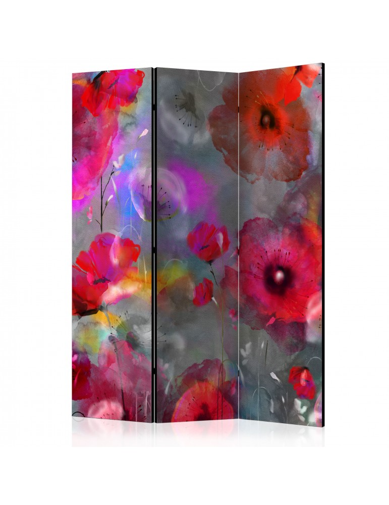 Paravent 3 volets - Painted Poppies [Room Dividers] A1-PARAVENT459
