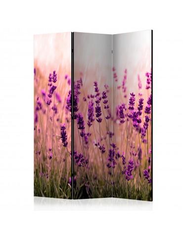 Paravent 3 volets - Lavender in the Rain [Room Dividers] A1-PARAVENT190