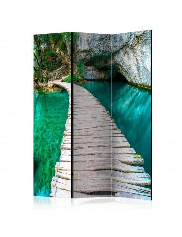 Paravent 3 volets - Emerald Lake [Room Dividers] A1-PARAVENT198