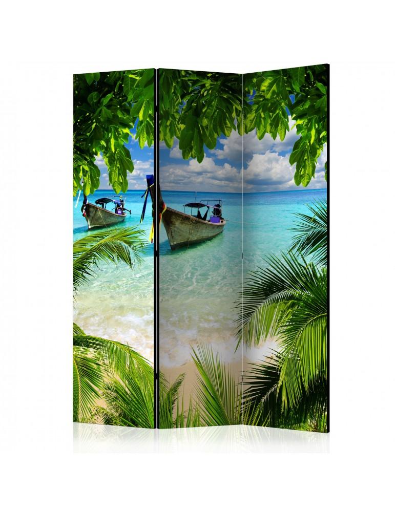 Paravent 3 volets - Tropical Paradise [Room Dividers] A1-PARAVENT208