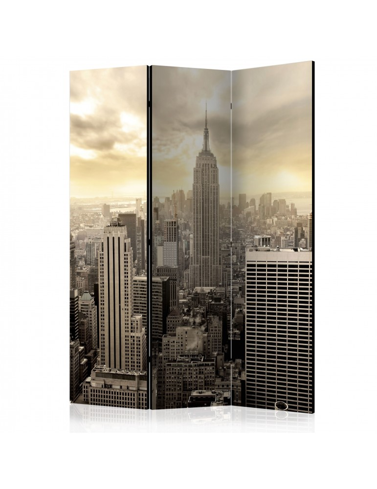 Paravent 3 volets - Light of New York [Room Dividers] A1-PARAVENT479