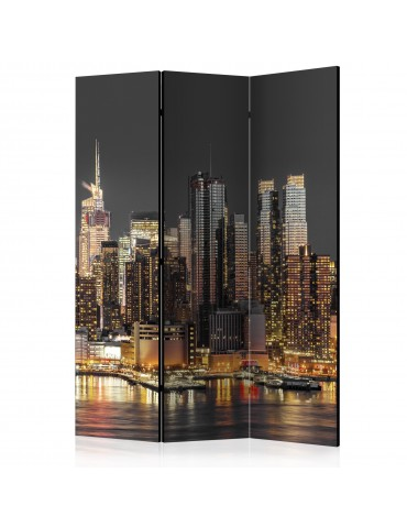 Paravent 3 volets - New York at Twilight [Room Dividers] A1-PARAVENT493