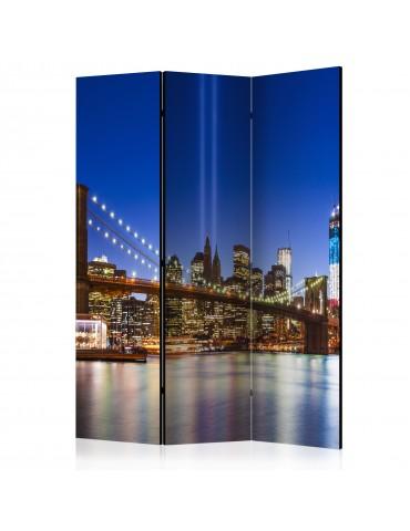 Paravent 3 volets - Blue New York [Room Dividers] A1-PARAVENT487